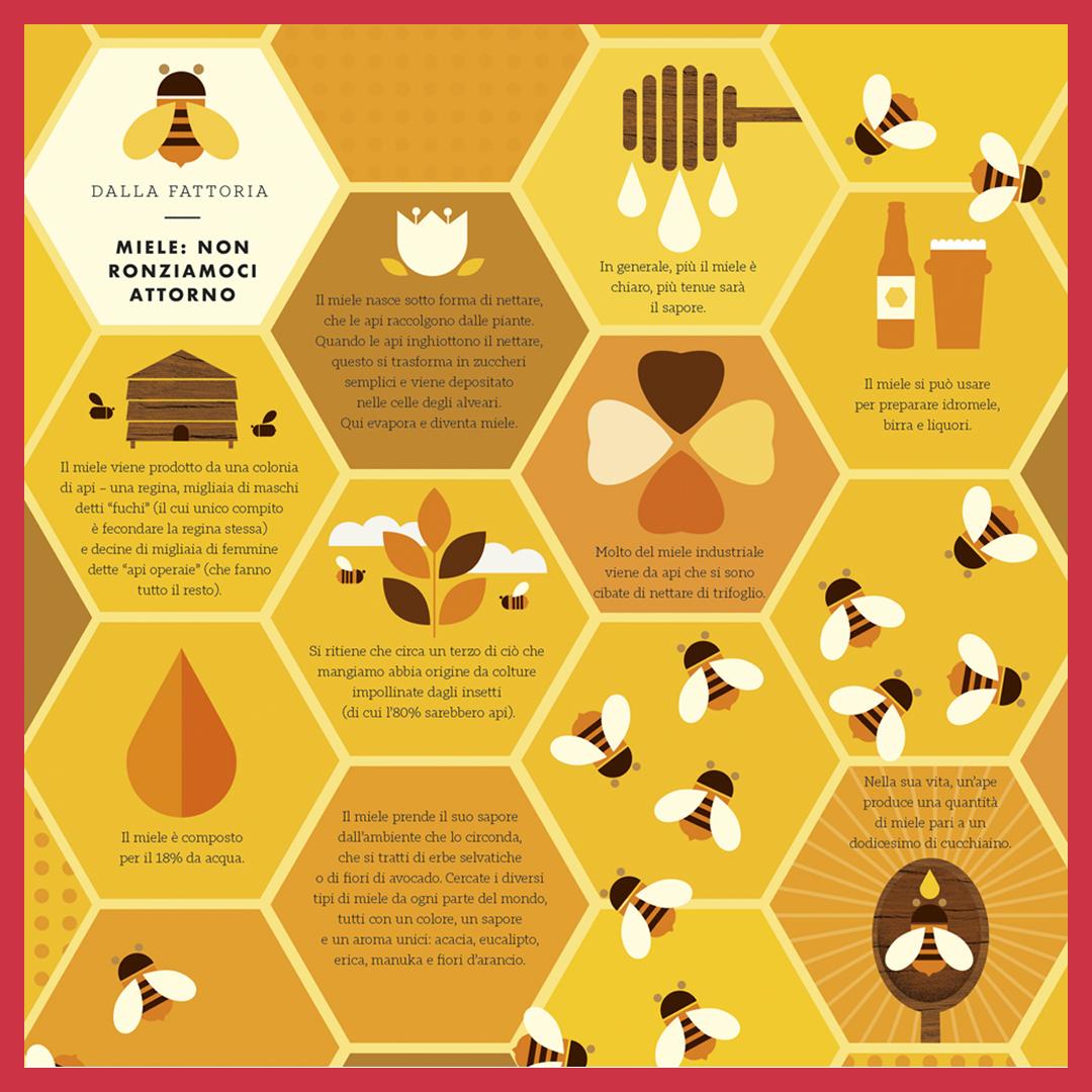 miele in punte di perdita di pesona